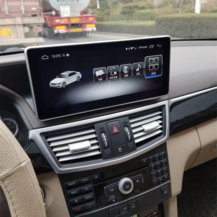Mercedes-Benz E-class coupe Android navigation large screen
