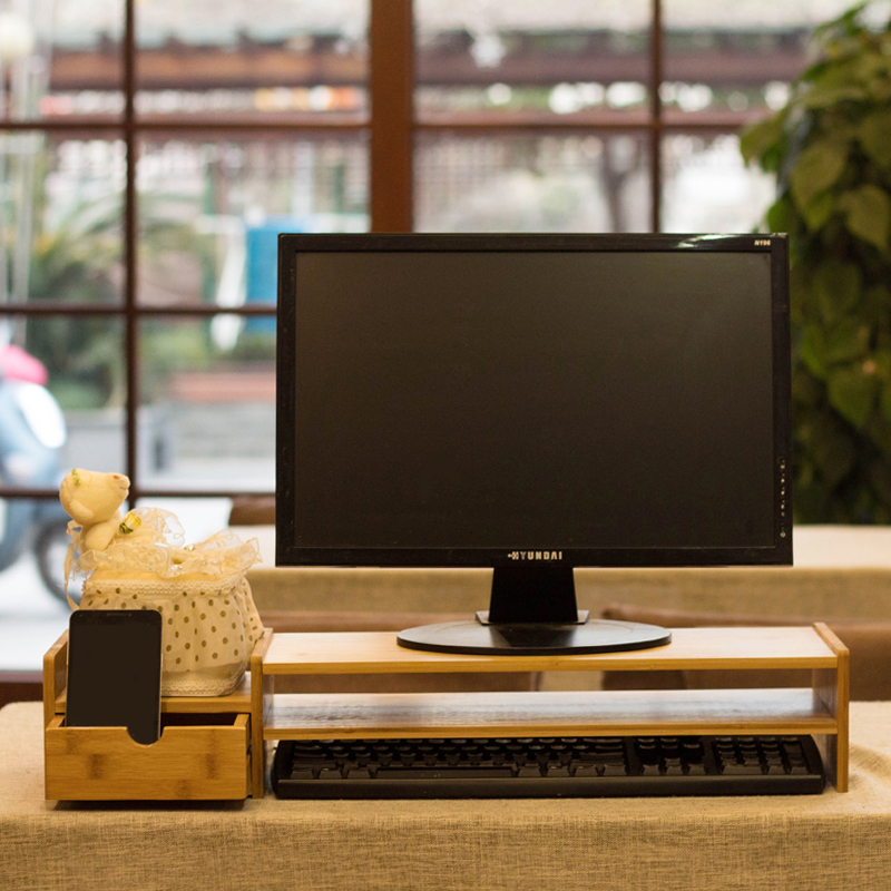 usd 19 98 computer monitor elevated frame office desktop screen