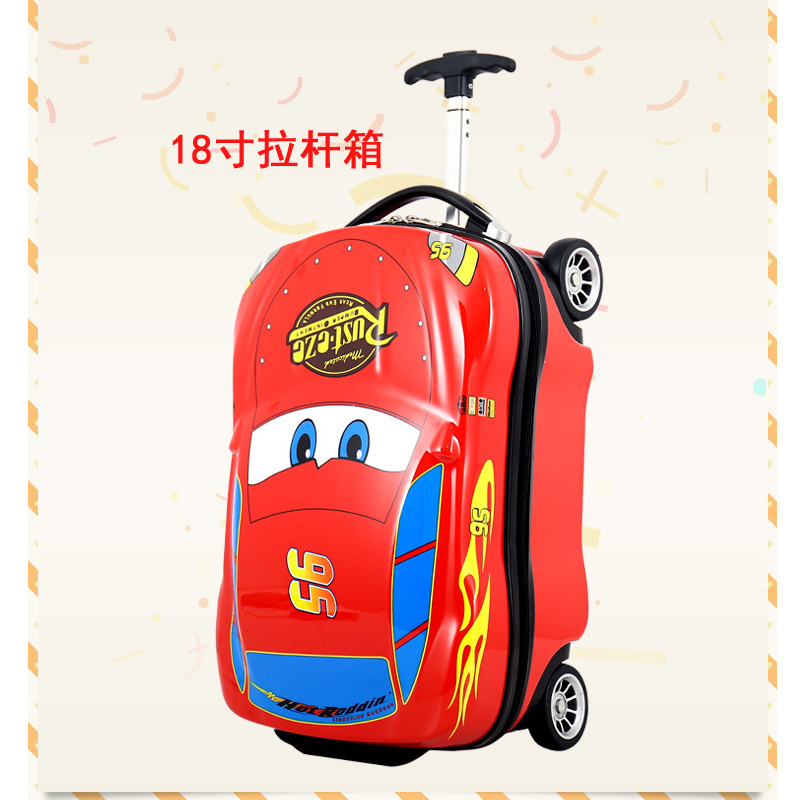 18 Inch Red Trolley Case