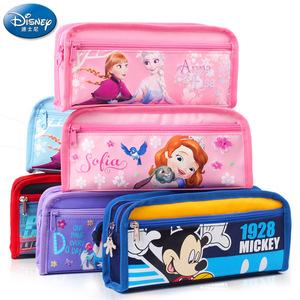 韩版文具迪士尼笔袋女男小学生文具盒大容量简约笔袋包邮学生奖品