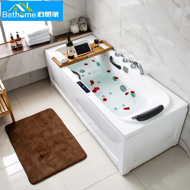 Отдельная ванна с юбкой интерьер Акриловая ванна Luxury Surf Jacuzzi European Simple бесплатная доставка по китаю товар в наличии