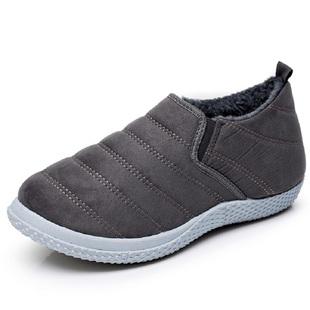 冬季男鞋保暖棉鞋男加绒加厚布鞋
