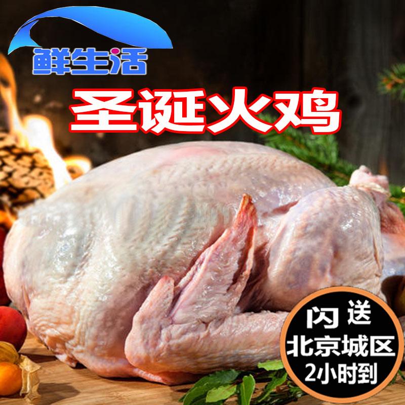 6-8kg/只 现货智利进口整只火鸡生冻感恩节火鸡turkey 圣诞火鸡