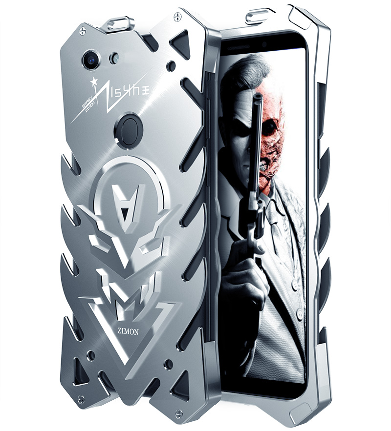 SIMON New THOR II Aviation Aluminum Alloy Shockproof Armor Metal Case Cover for OPPO A79