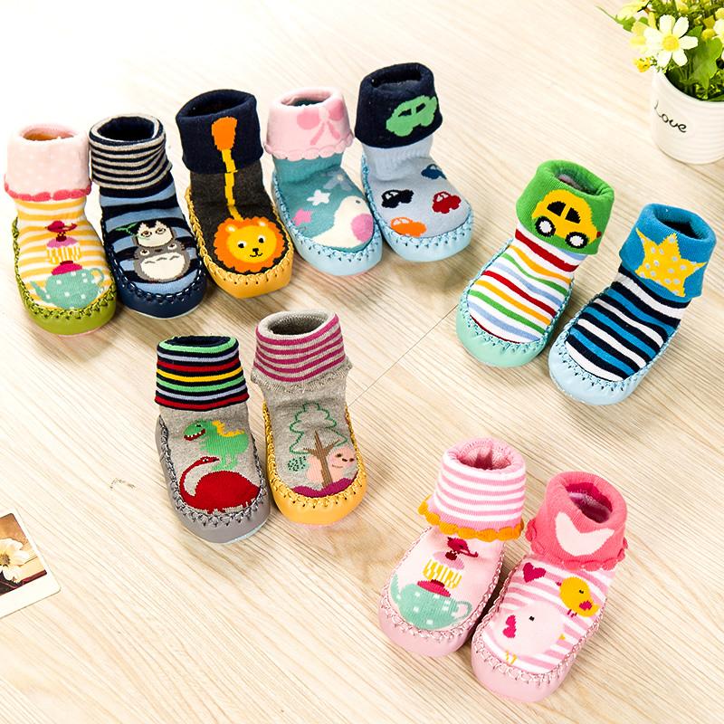0-3岁儿童地板袜春秋冬毛圈袜婴儿袜