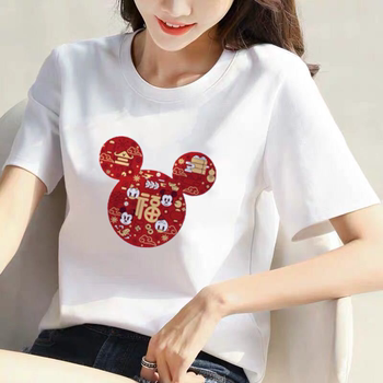 The new 2020 summer white short-sleeved t-shirt Korean women loose large size women students tide