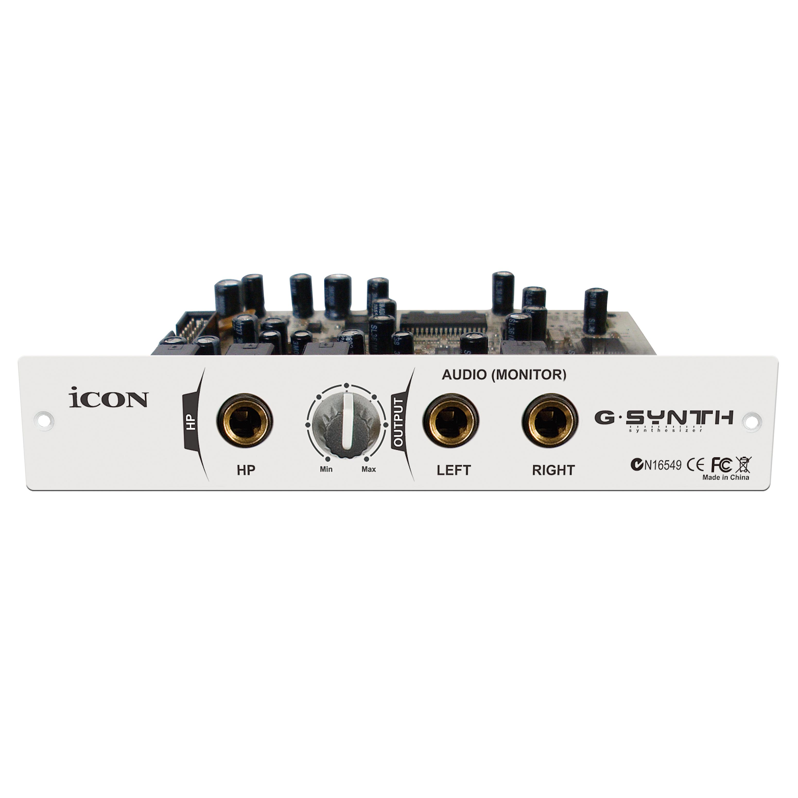 AB) iCON Aiken G-Synth Midi keyboard sound module Midi sound synthesizer