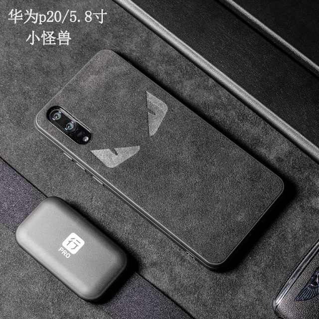 on sale f9a40 33cc9 9 Huawei P20, Huawei P20 Pro Alcantara Handy Hülle Microfiber Hydrophobic  Water Repellent Surface Handyhüllen