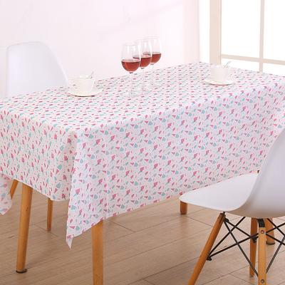 防水电视柜软玻璃书桌布长方形防烫PVC茶几垫免洗防油台布北欧艺