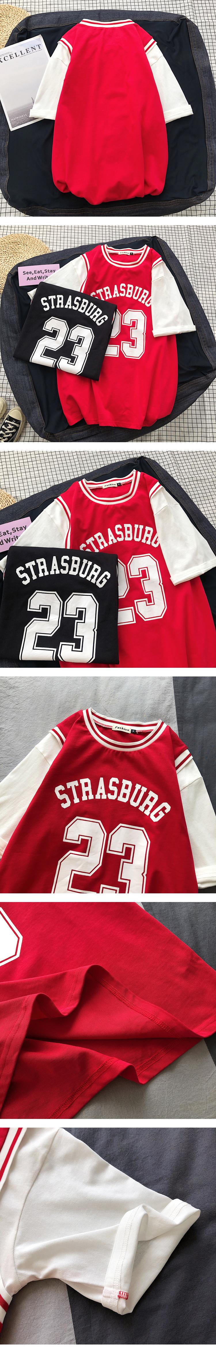 2020春夏季 假两件 男士短袖T恤恤A009-T107-P35 100棉 平铺