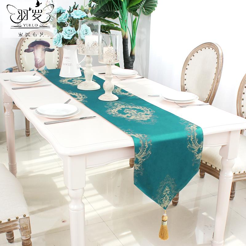 Yu Luo cờ bàn châu Âu cung điện Pháp mới Trung Quốc Bắc Âu bàn cà phê cờ đơn giản hiện đại bàn ăn cờ cờ - Khăn trải bàn