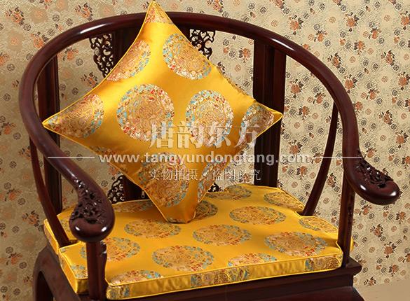 皇宫圈椅坐垫太师椅垫