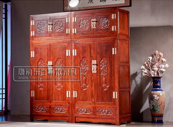 老榆木衣柜系列