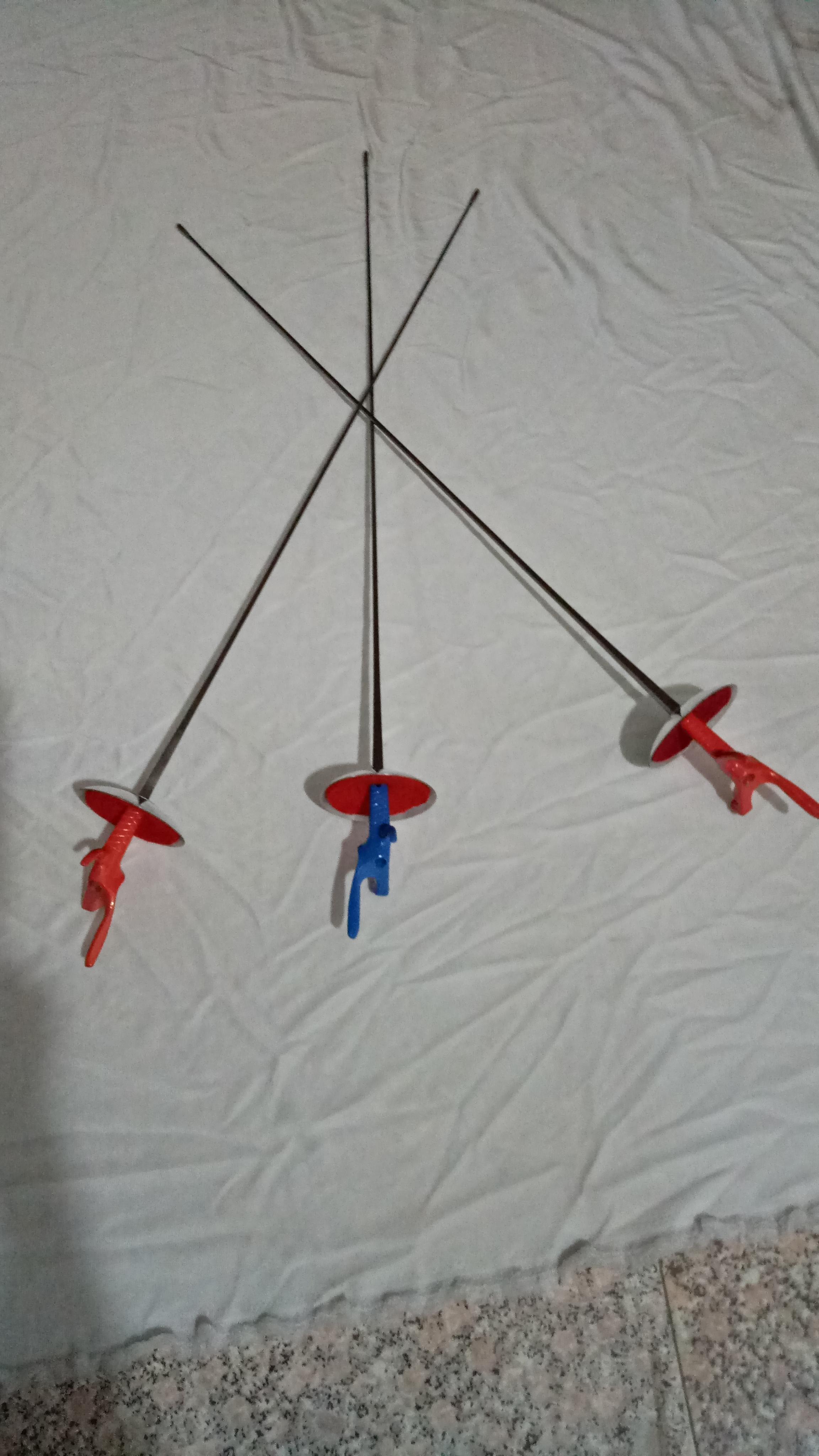 Оборудование для фехтования, для взрослых, детские Фольга тренирует весь меч.