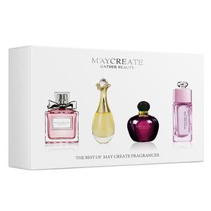 【4瓶礼盒套装】香水女士 持久淡香学生自然清新专柜正品男女香水