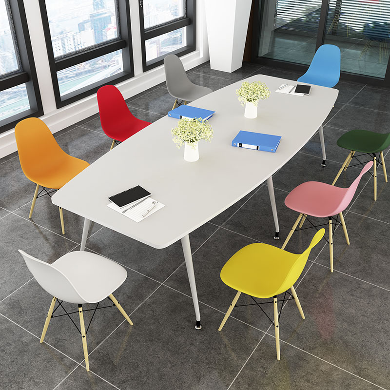 Easy Conference Table Oval Long Table Meeting Table Training Table - Long meeting table