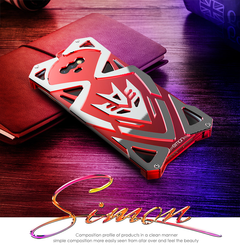 SIMON THOR Ⅱ Aviation Aluminum Alloy Shockproof Armor Metal Case Cover for Huawei Honor Magic