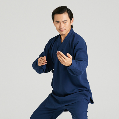 Wudang robes Taoist clothing Taoist clothes women's practice Tai Chi men's practice clothes