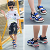 Boys sandals 2018 new big children Korean version of girls summer beach shoes children students non-slip baby shoes