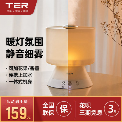 TER plus water humidifier household mute bedroom office air conditioning air purification small aroma diffuser humidification
