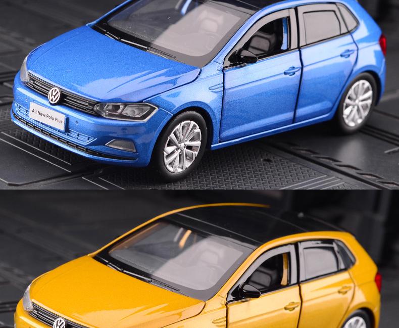 Xe mô hình tĩnh Volkswagen Polo tỉ lệ 1:32 - ảnh 7