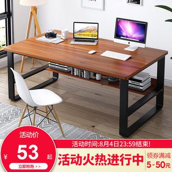 Столы для ноутбуков,  Простой стол домой письменный стол рабочий стол двойной компьютерный стол студент стол легко запись стол спальня стол, цена 802 руб