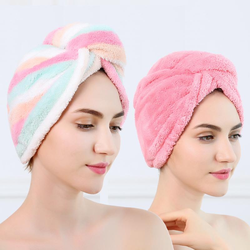 【2条装】超强吸水加大加厚速干干发帽