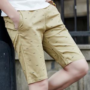 5分休闲大码中裤 纯棉 运动短裤