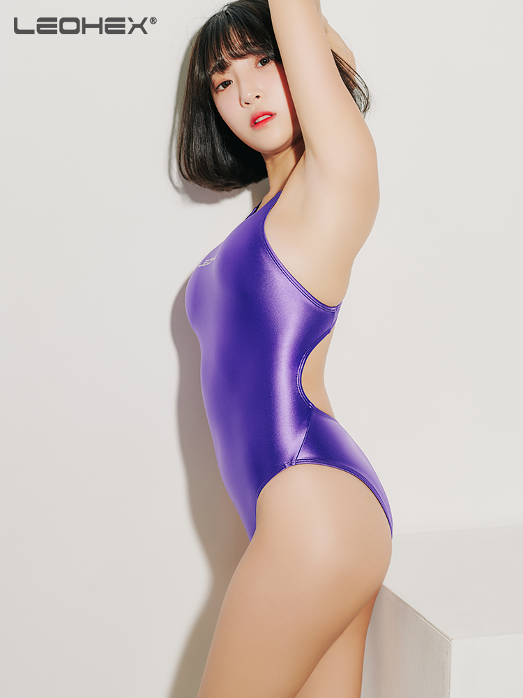 42agent LEOHEX new one-piece swimsuit female ins windy emotional slimming belly high fork hot springs dead pool water swimsuit - Taobao