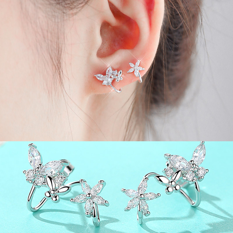 Usd 13 77 Uxus925 Silver Needle Ear Clip No Hole