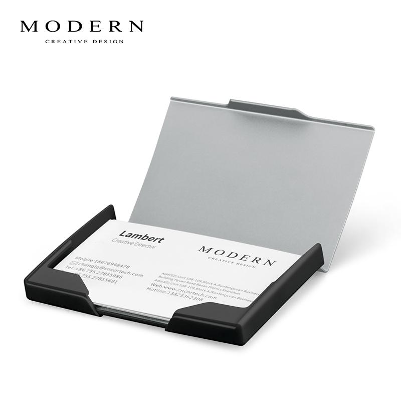 Usd 39 66 Germany Modern Ultra Thin Metal Flip Card Holder