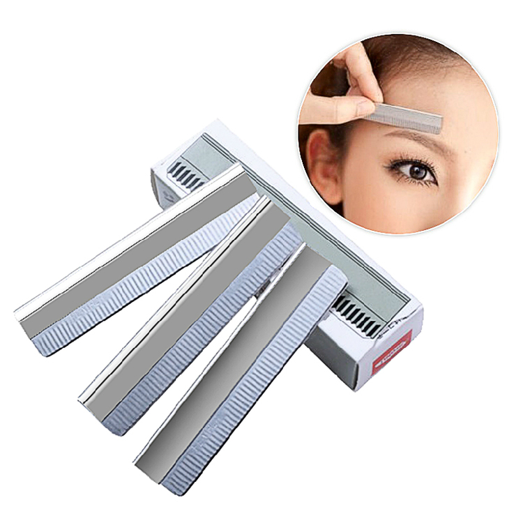 Professional eyebrow-scouted blade blade 10 piece set women eyebrow shave makeup tool makeup tool for the makeup artist.