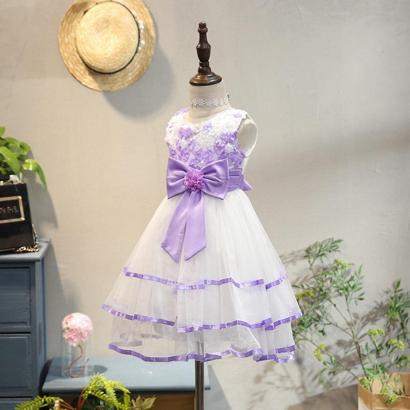 童装女童连衣裙夏装洋气宝宝公主裙礼服小童蓬蓬纱裙儿童裙子夏季