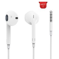 【今日特价网】苹果耳机iPhone6/6plus/6s/5s入耳式7/8/x/7plus/i7p手机通用原裝正品有线控扁头iPhoneX耳塞重低音炮6女生