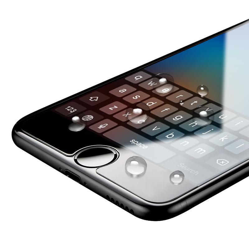 iphone6钢化玻璃膜 苹果6钢化膜6s紫蓝光防指纹全屏plus手机膜4.7