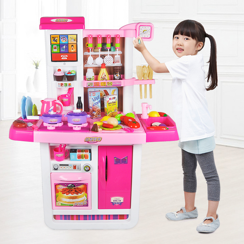 Usd 54 68 Girls Toys Children S Kitchen Set Boy Simulation