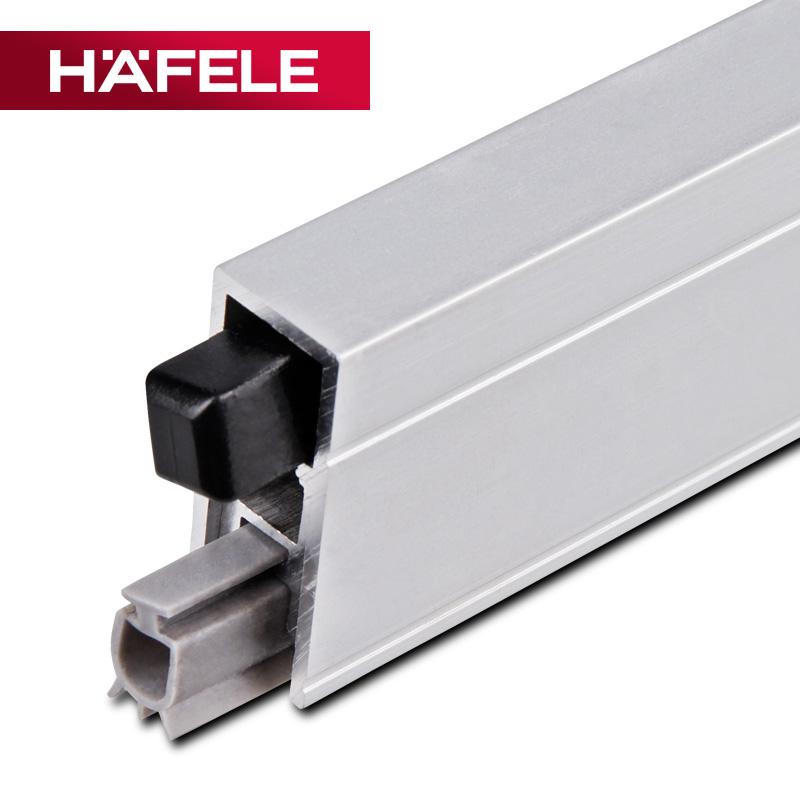 Häfele HAFELE дверь Нижнее уплотнение полосатый изоляция автоматическая Пылезащитный стержень полосатый дом дверь Лобовое стекло 950.10.603