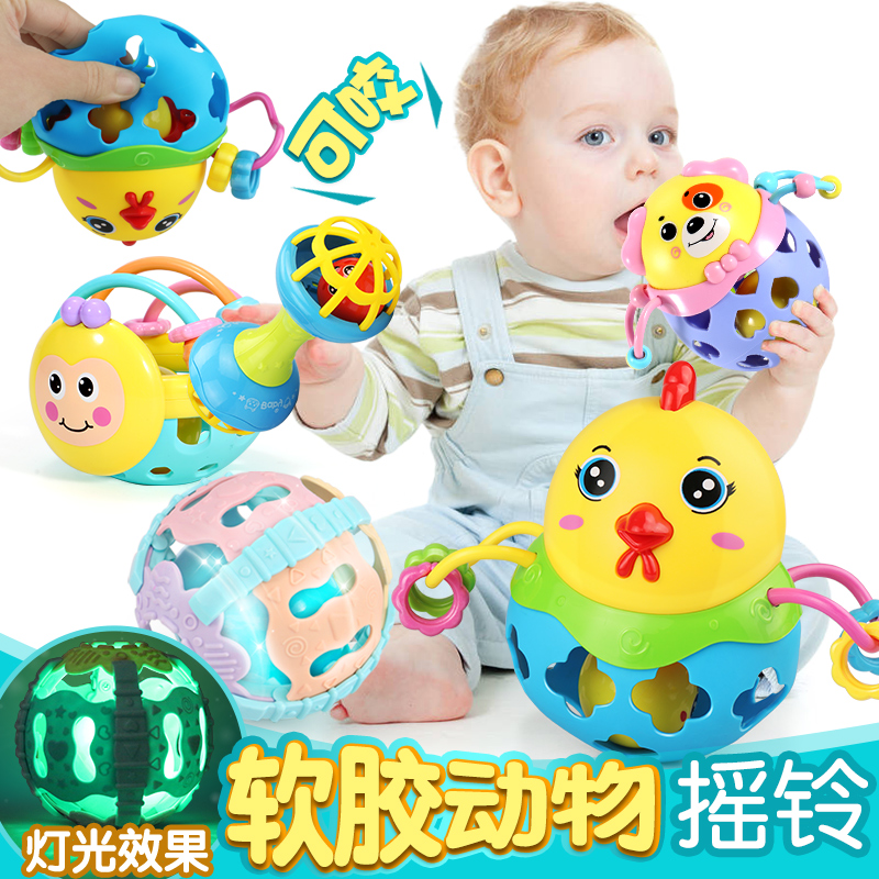 Usd 8 25 Baby Rattles Toys 0 3 6 12 Months Puzzle Newborn Hand Bell