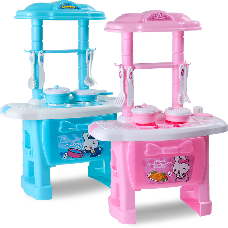 USD 28.22] Child play kitchen toys 3-7 Cook cooking kitchen ...