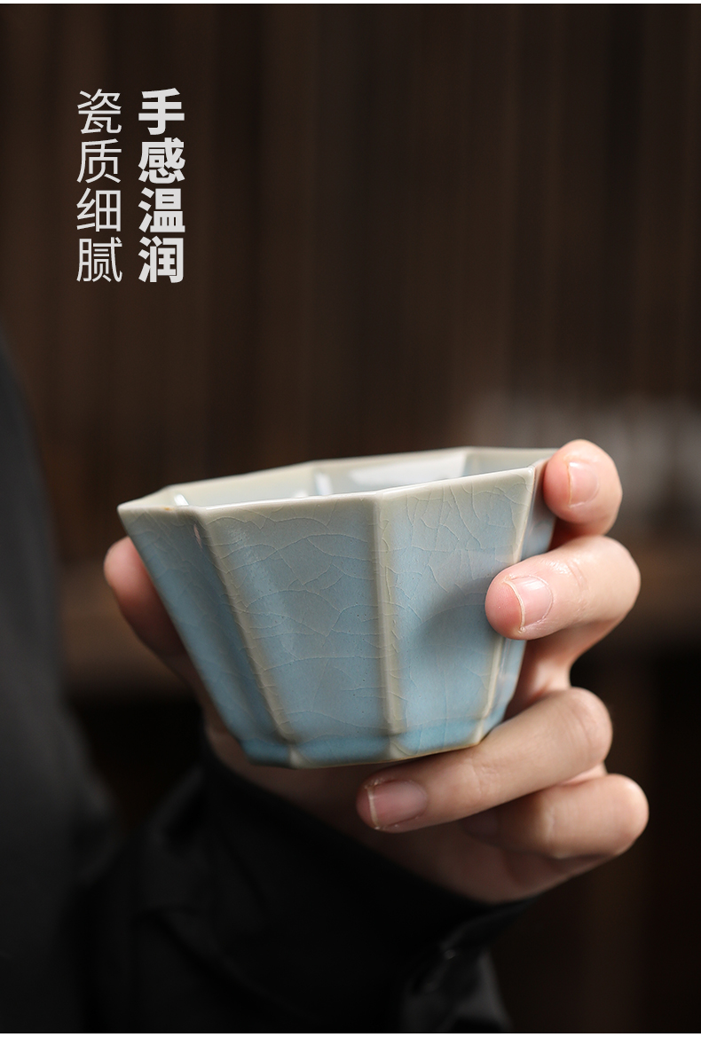Ru up market metrix who cups sliced open kung fu tea cup your porcelain cup mat for its ehrs tea set single glass ceramic individual sample tea cup bowl