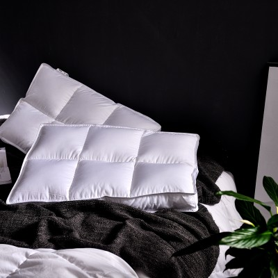 Aiweishi Nordic Korean three-dimensional edge fiber five-star hotel pillow pillow core feather velvet soft pillow neck protector
