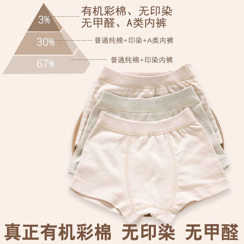 76854aa03 Arctic cashmere class A baby underwear 1-3 years old cotton spring ...