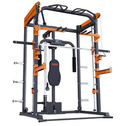 SMITH MACHINE (SINGLE MACHINE DOES NOT CONTAIN BARBELL)