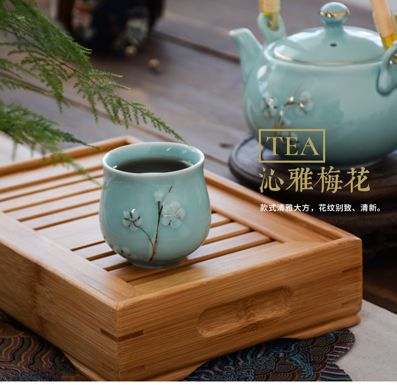 Ceramic teapot single pot pot teapot big teapot single porcelain teapot tea set filter girder household jugs