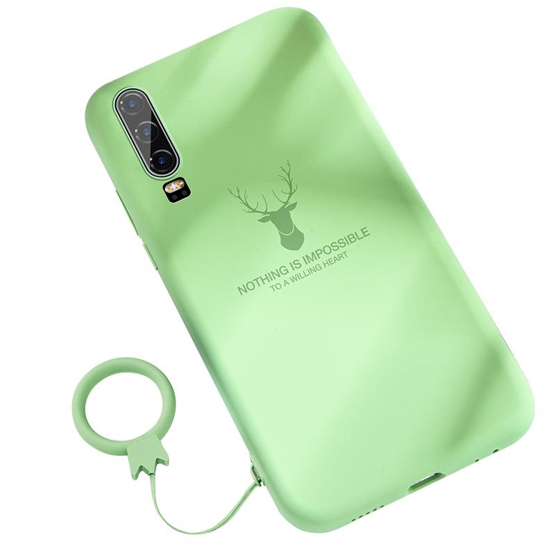 华为p30手机壳液态硅胶