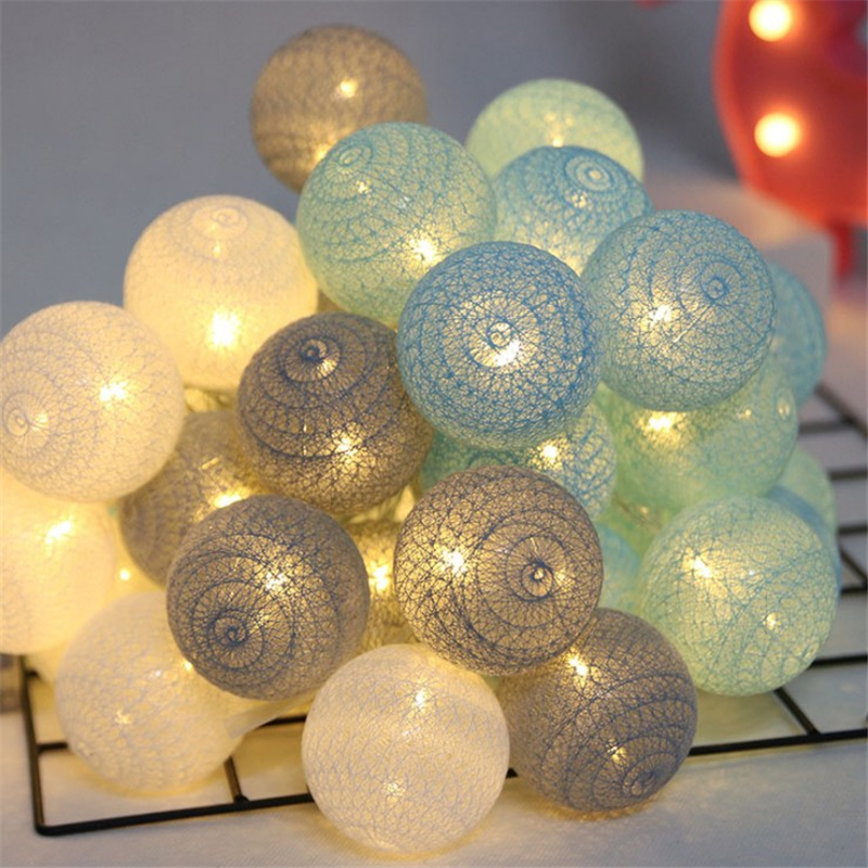 New Year cotton ball star lamp lantern Lamp hotel bar KTV birthday layout dormitory Romantic room decoration