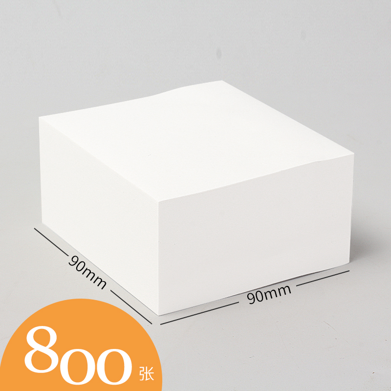 White Square Note Stick Large 800 Sheets