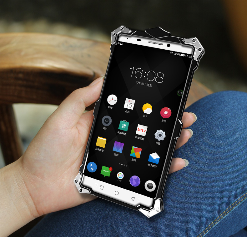 SIMON THOR Aviation Aluminum Alloy Shockproof Armor Metal Case Cover for LeTV Le 1 X600