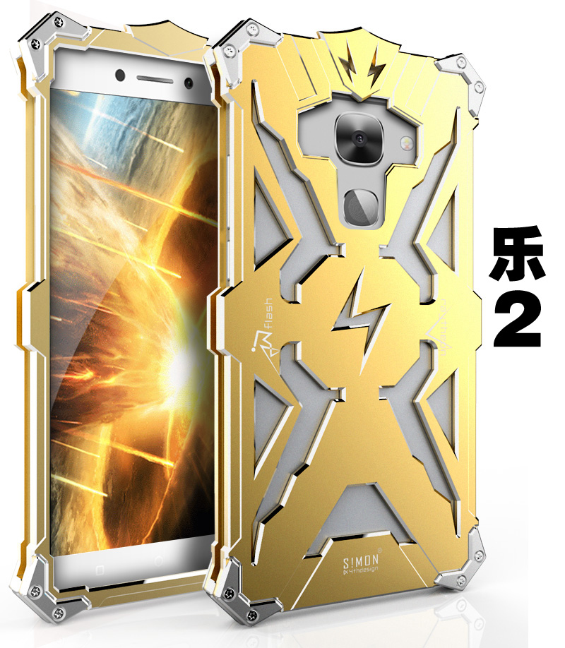 SIMON THOR Aviation Aluminum Alloy Shockproof Armor Metal Case Cover for LeTV Le Max 2 & Le 2 Pro & Le 2