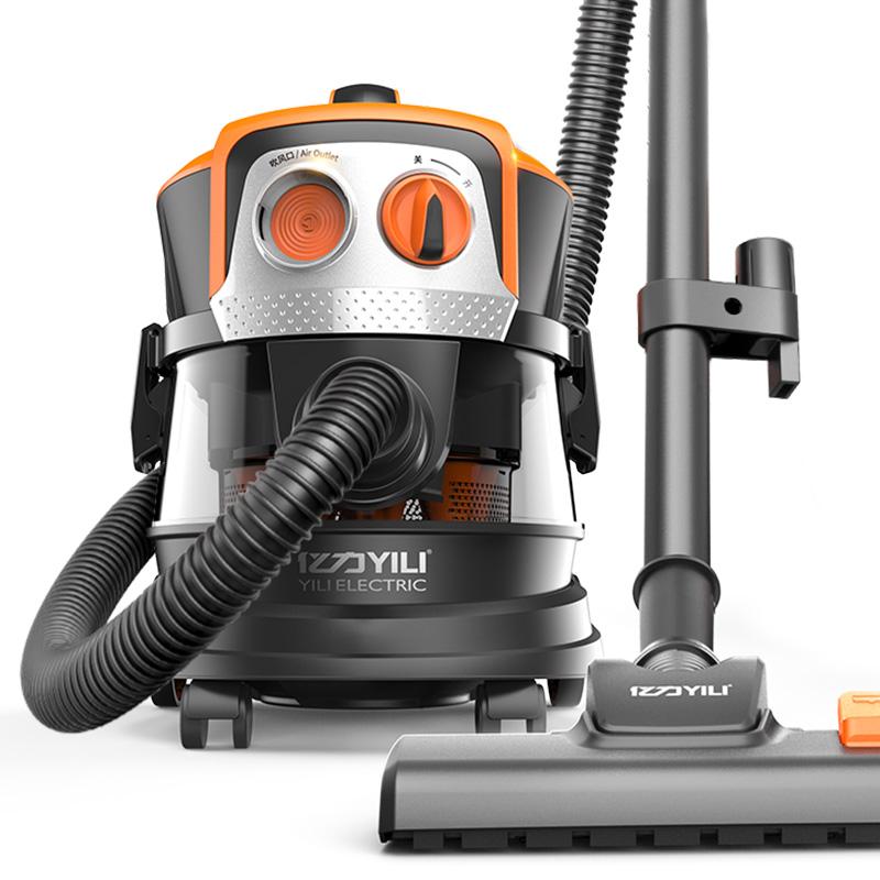 亿力YLC6280吸尘器强力超静音大吸力除螨仪家用地毯式桶式吸尘机